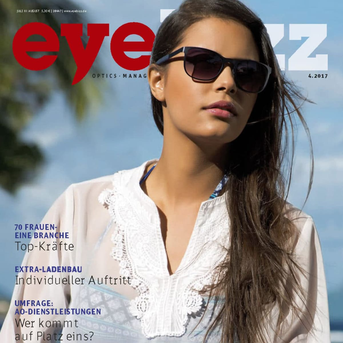 gloryfy Eyebizz Magazin 5th Avenue Dark Havanna optische Brille