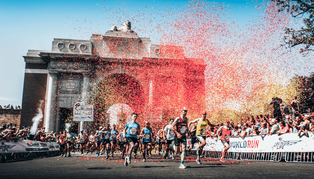 gloryfy Wings for Life Worldrun Sonnenbrillen Edition